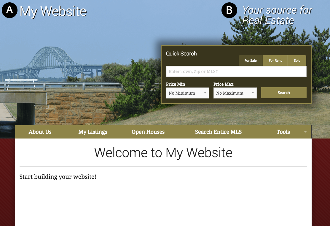 Web Template Site Sample